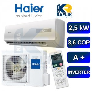 Haier Tide AS09 klimatyzator ścienny 2,5 kW AS09GB3HRA/1U09BE6ERA